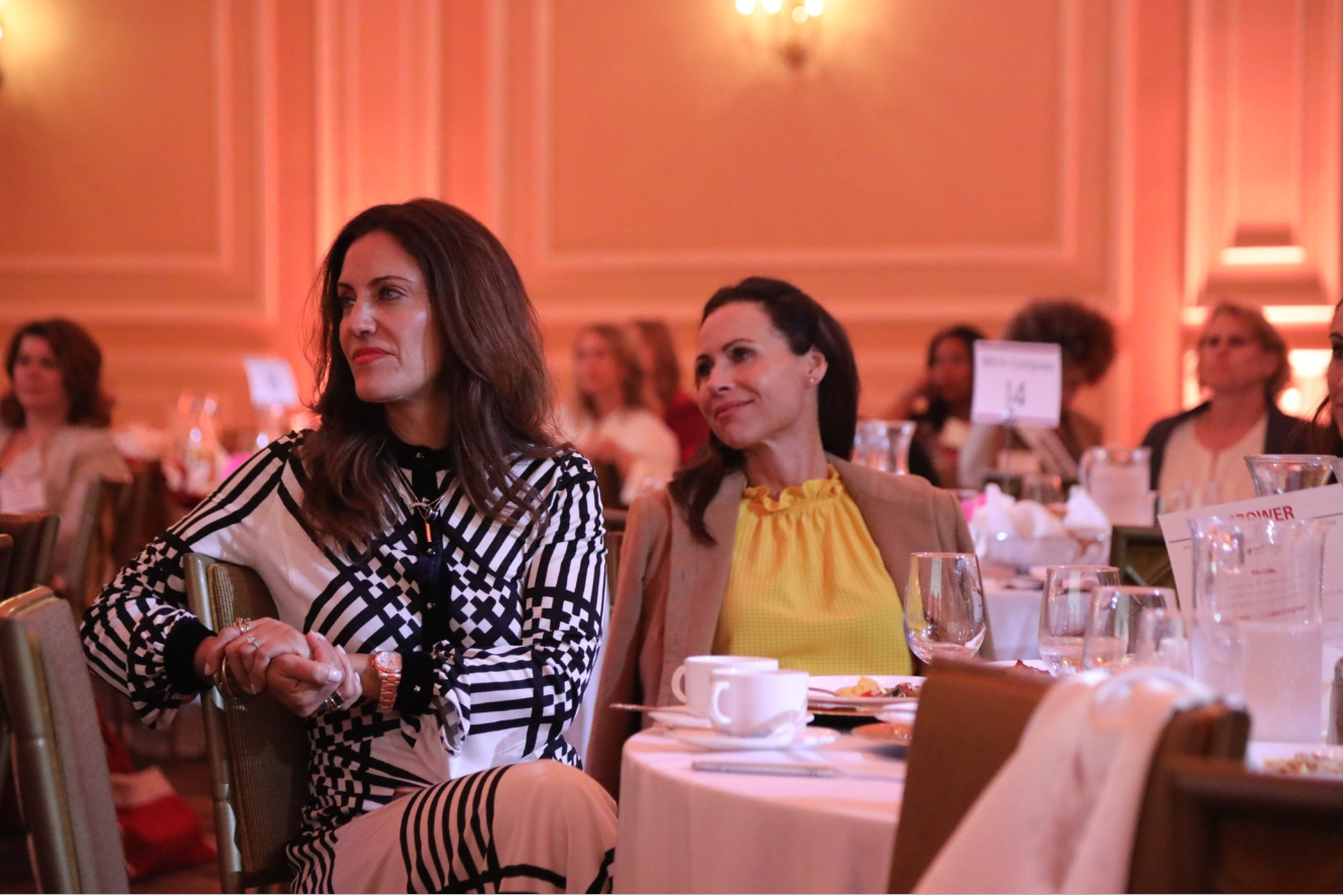 Actress Minnie Driver Watches Panelist Discussion at Dress For Success'    7th Annual Empower Breakfast    in Los Angeles