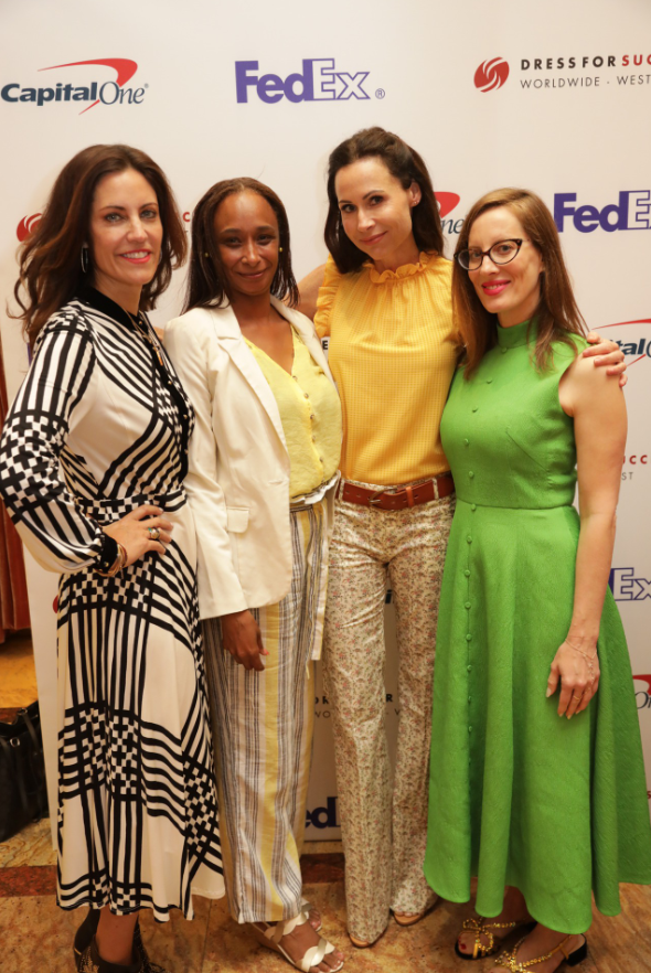 Actress Minnie Driver Attends Dress For Success'    7th Annual Empower Breakfast    in Los Angeles