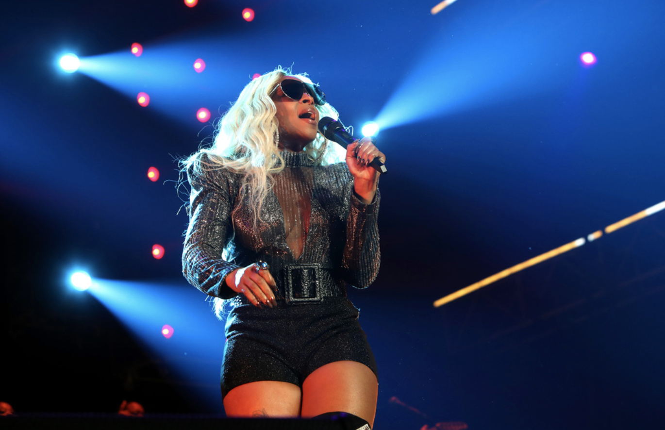 Mary J. Blige SLAYED Last Night at the BET Experience! Photo Credit: Getty Images for BET