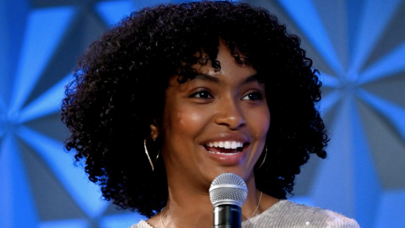 Yara Shahidi speaks onstage at Genius Talks Sponsored By Credit Karma during the BET Experience at the Los Angeles Convention Center on June 22, 2019 in Los Angeles, California. (Photo by Frazer Harrison/Getty Images for BET)