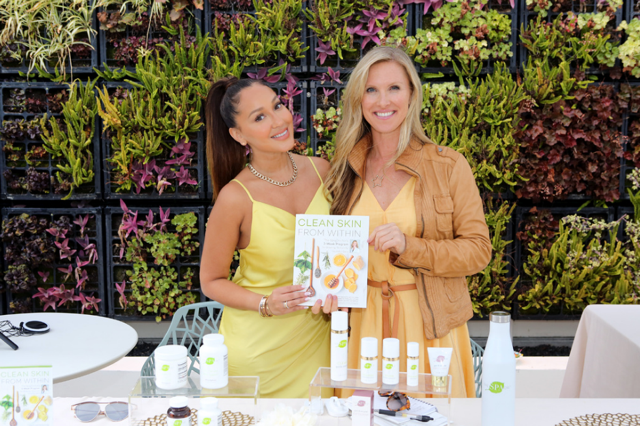The Real's  Adrienne Bailon-Houghton looked as content as ever as she attended  Debbie Durkin's EcoLuxe Lounge  sponsored by  Oli Cosmetics ReGen De Peau ,  The Spa Dr.  and  SoCalHempCo , where select VIPs took home hotel stays at the Royalton Negril and Sunset At The Palms Negril courtesy of the  Jamaica Tourist Board  at The Beverly Hilton in Beverly Hills, CA.  Photo Credit:  Tasia Wells / Getty Images for EcoLuxe Lounge