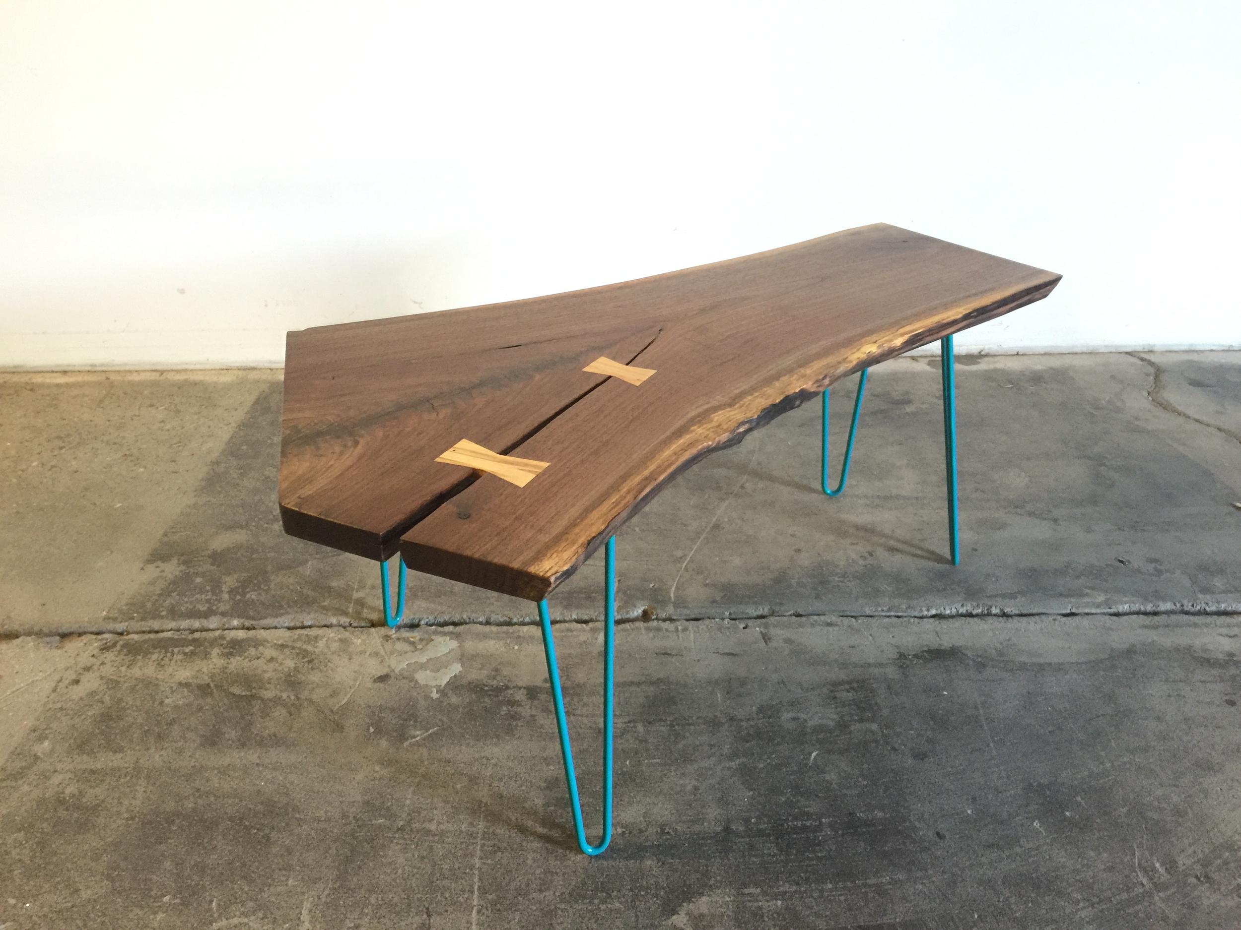 Walnut Slab Coffee Table P10290
