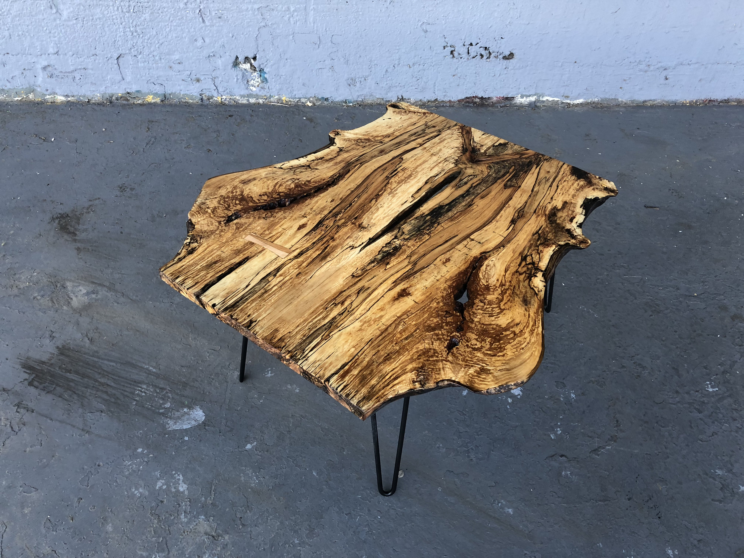 P10513 Spalted Maple Coffee Table