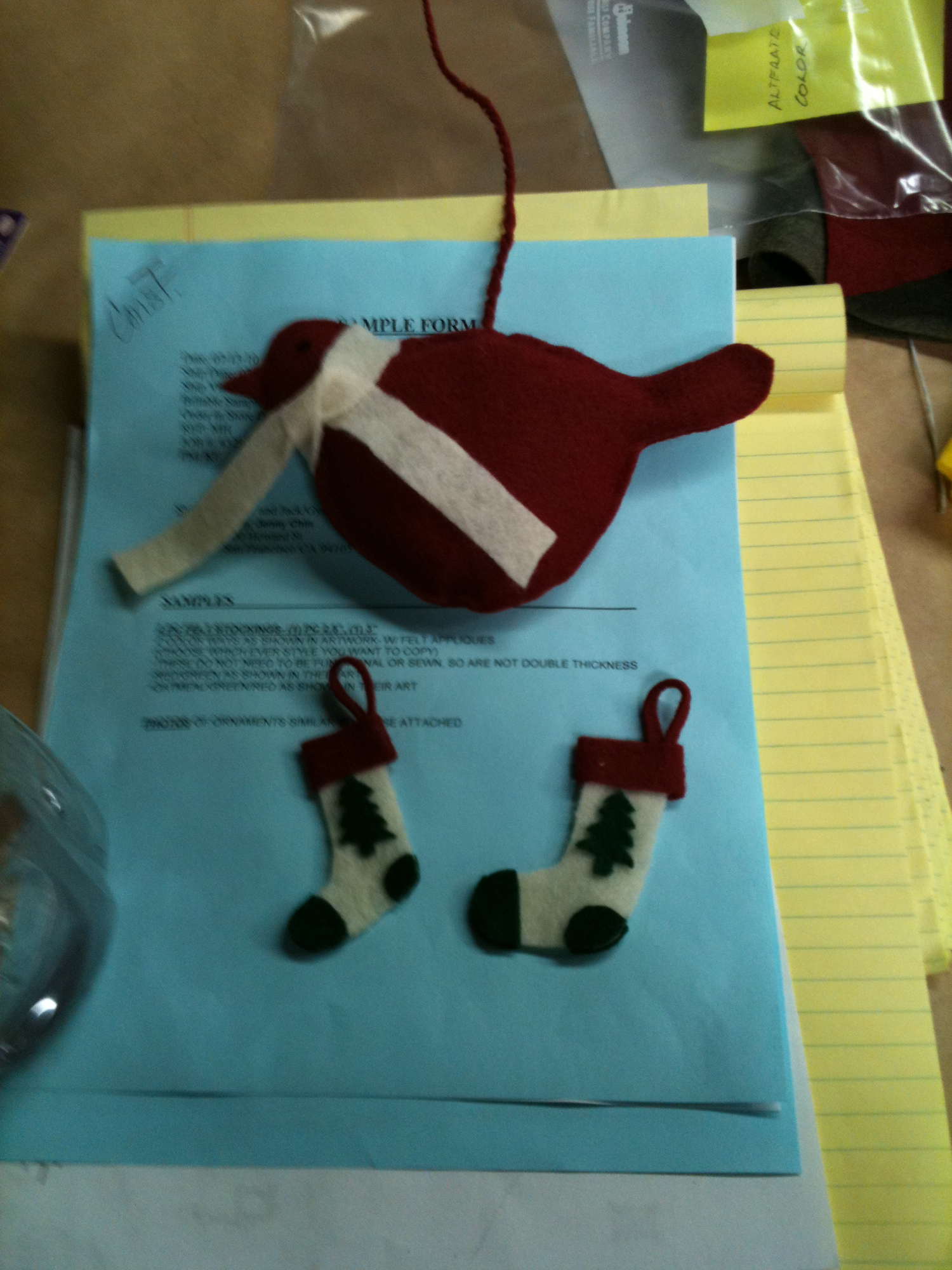 JANIE AND JACK ORNAMENTS