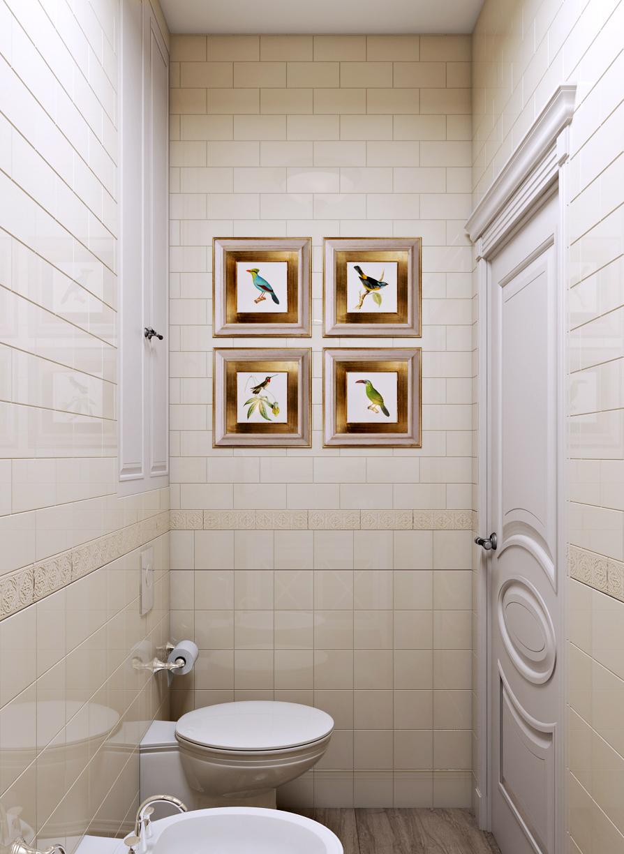 Современная классика ванной