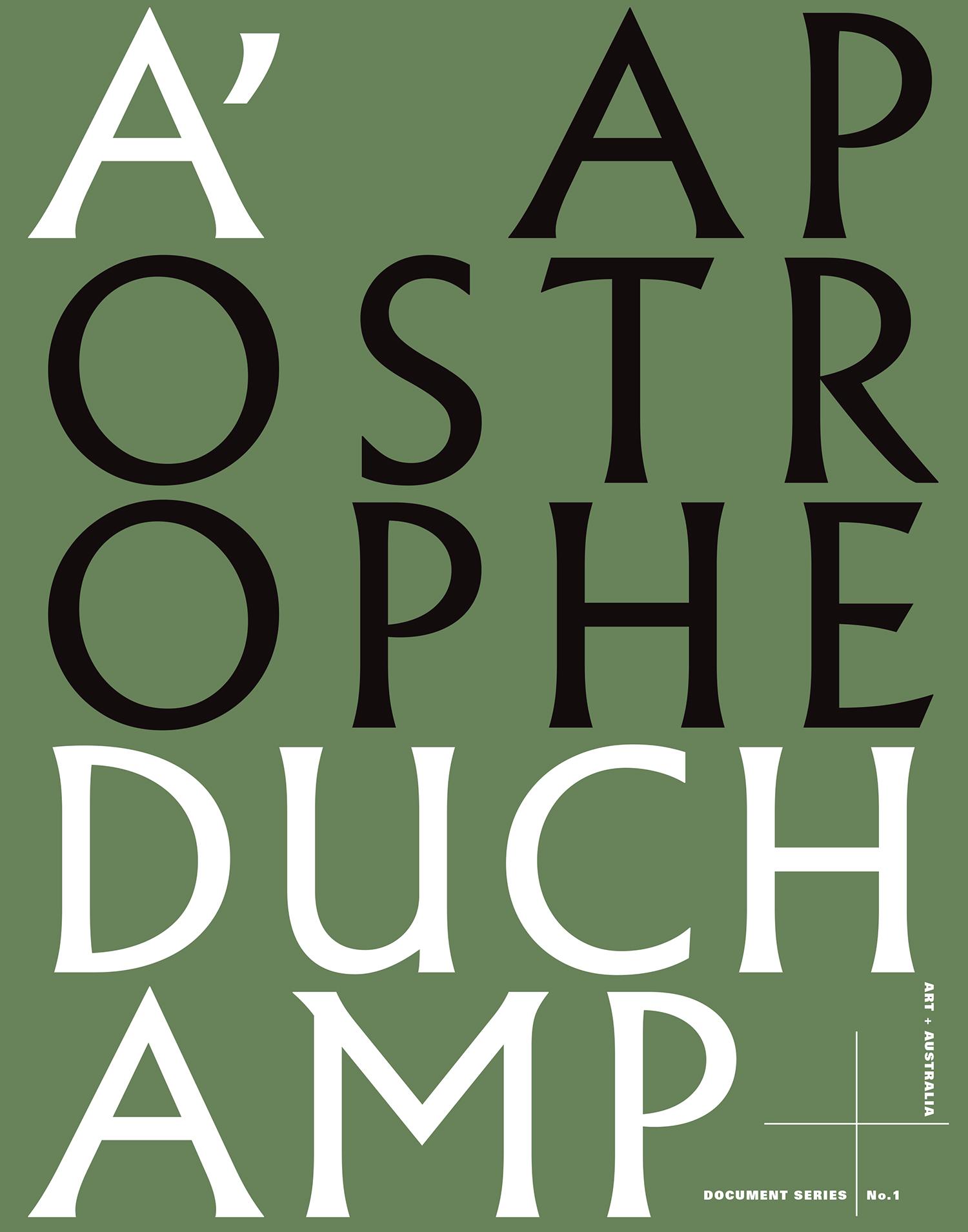 apostrophe duchamp
