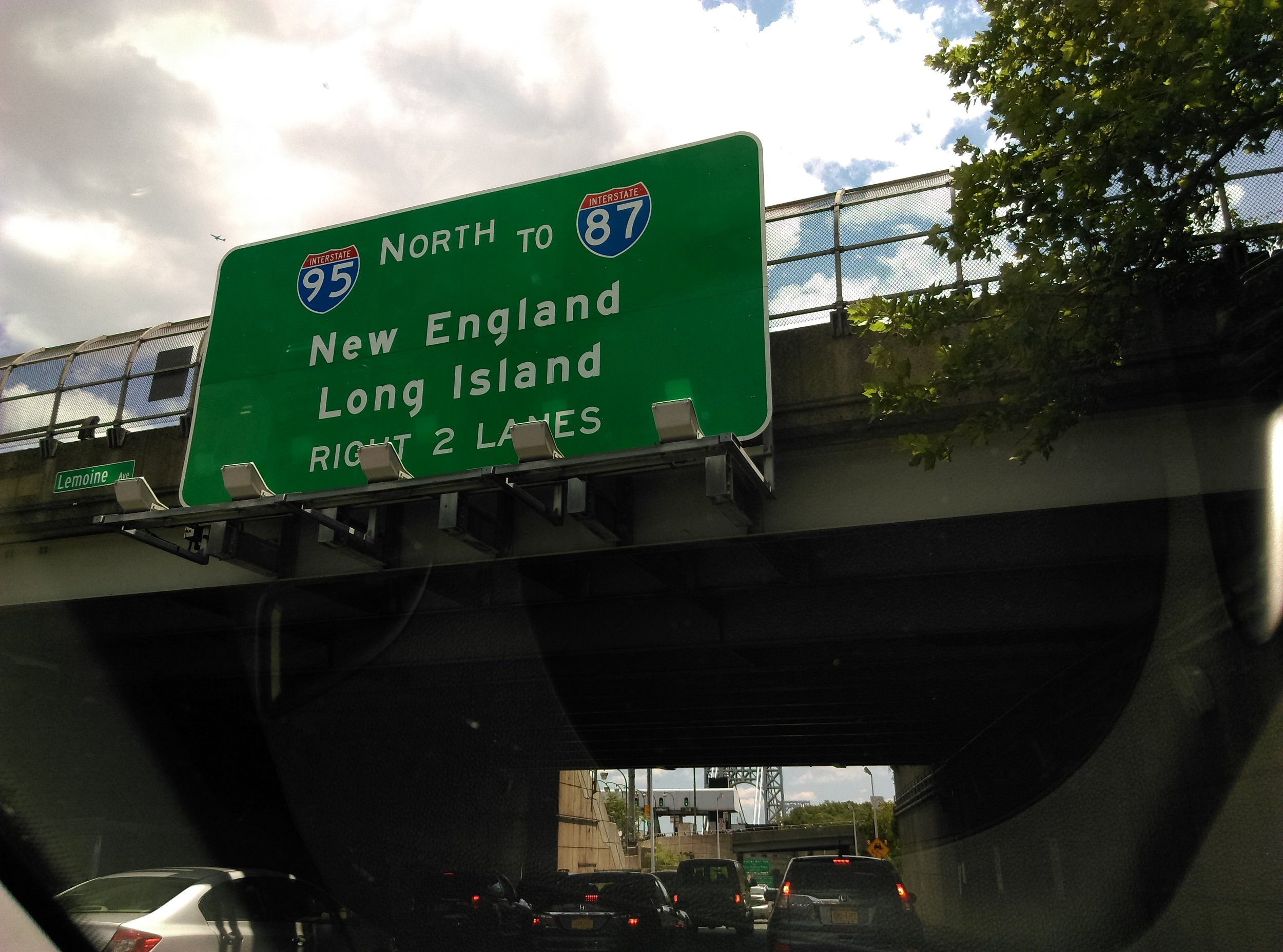 Driving thru NYC and the Bronx Expressway :-) heading north to my photo 'home'