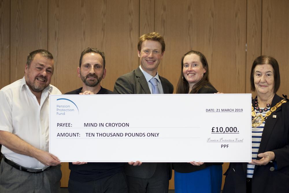 PPF presenting MIND Croydon