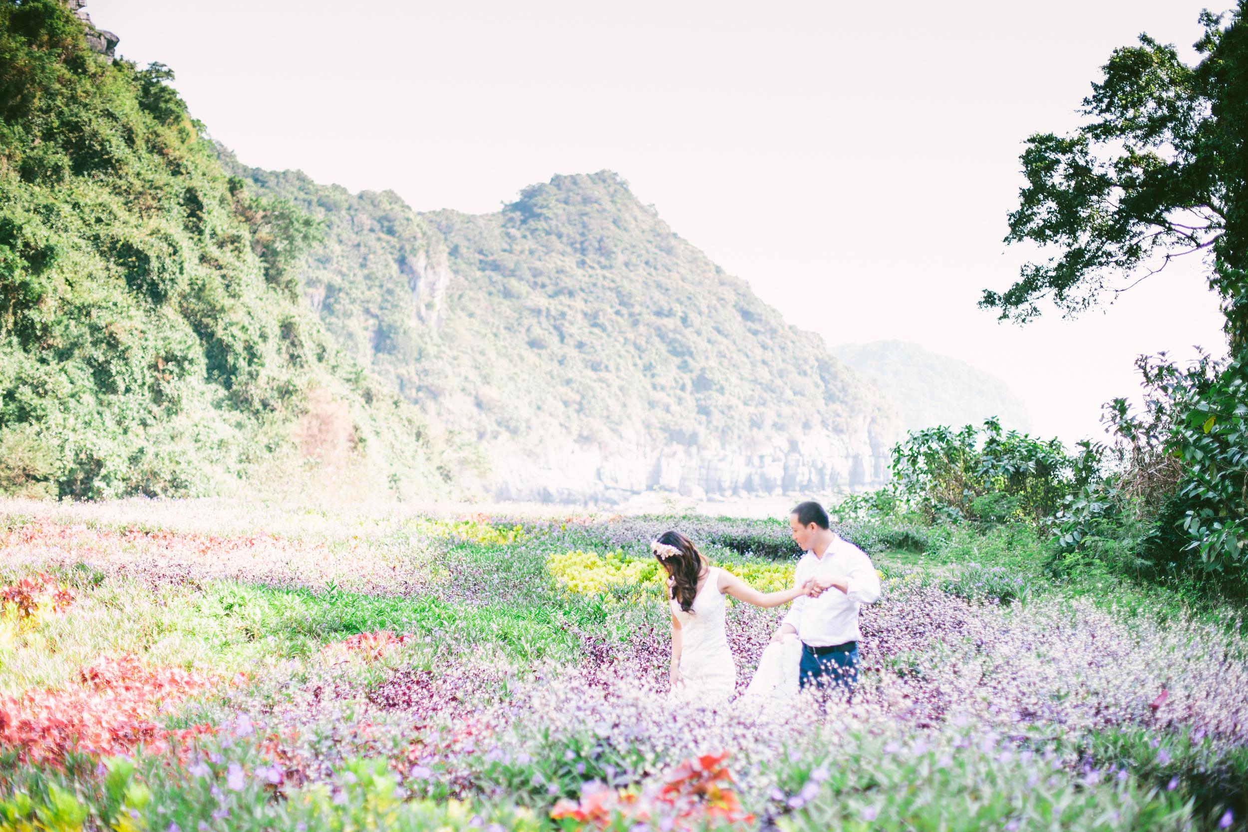 Diese Serie wurde im Hochzeitswahn  veröffentlicht.  Ort: Halong Bucht, Vietnam