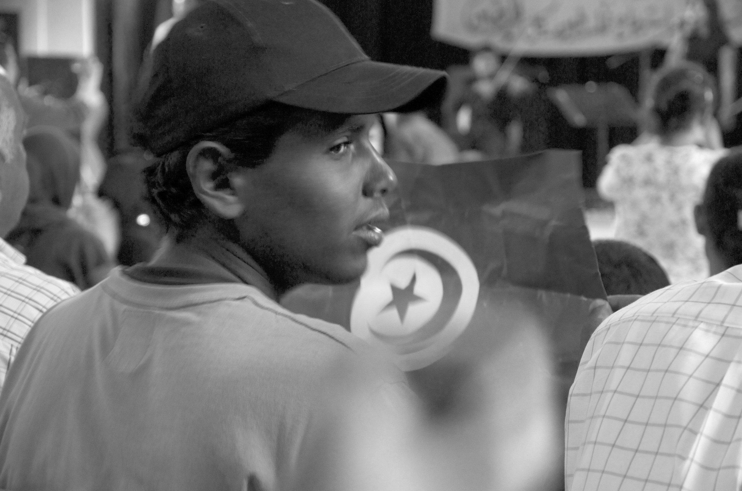 Flag, Jerjiss, Tunisie, photographie numérique, 2011