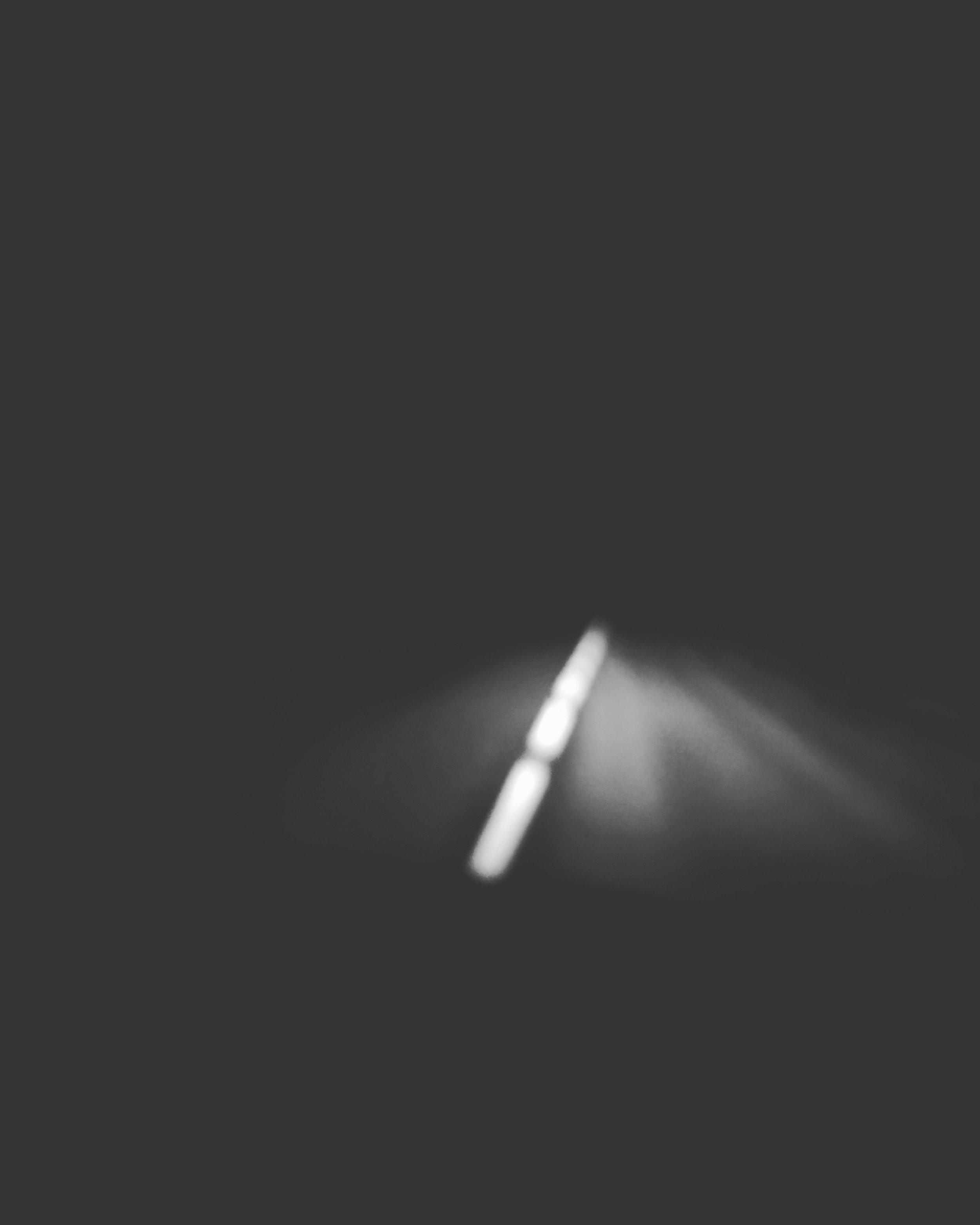 Route, après Wimmenau (tribute to Guisberg), photographie au smartphone, tirage au traceur A2, 2017