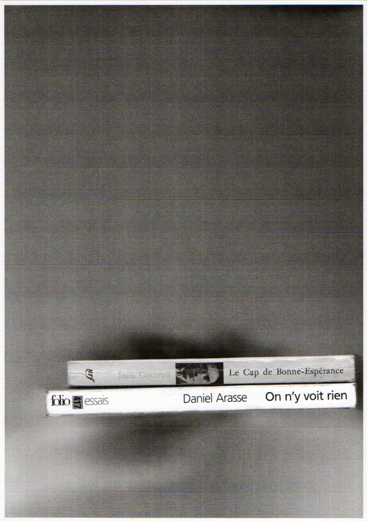 Le cap de Bonne-Éspérance on y voit rien, photocopie, 2013