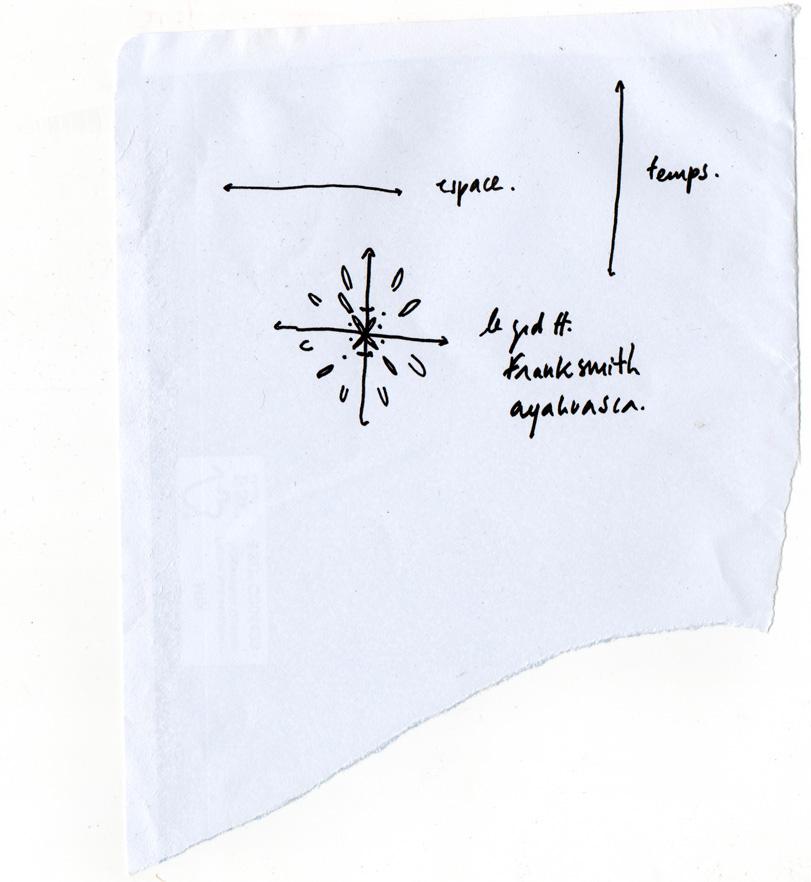 Le grand tout, dessin au feutre, 2013