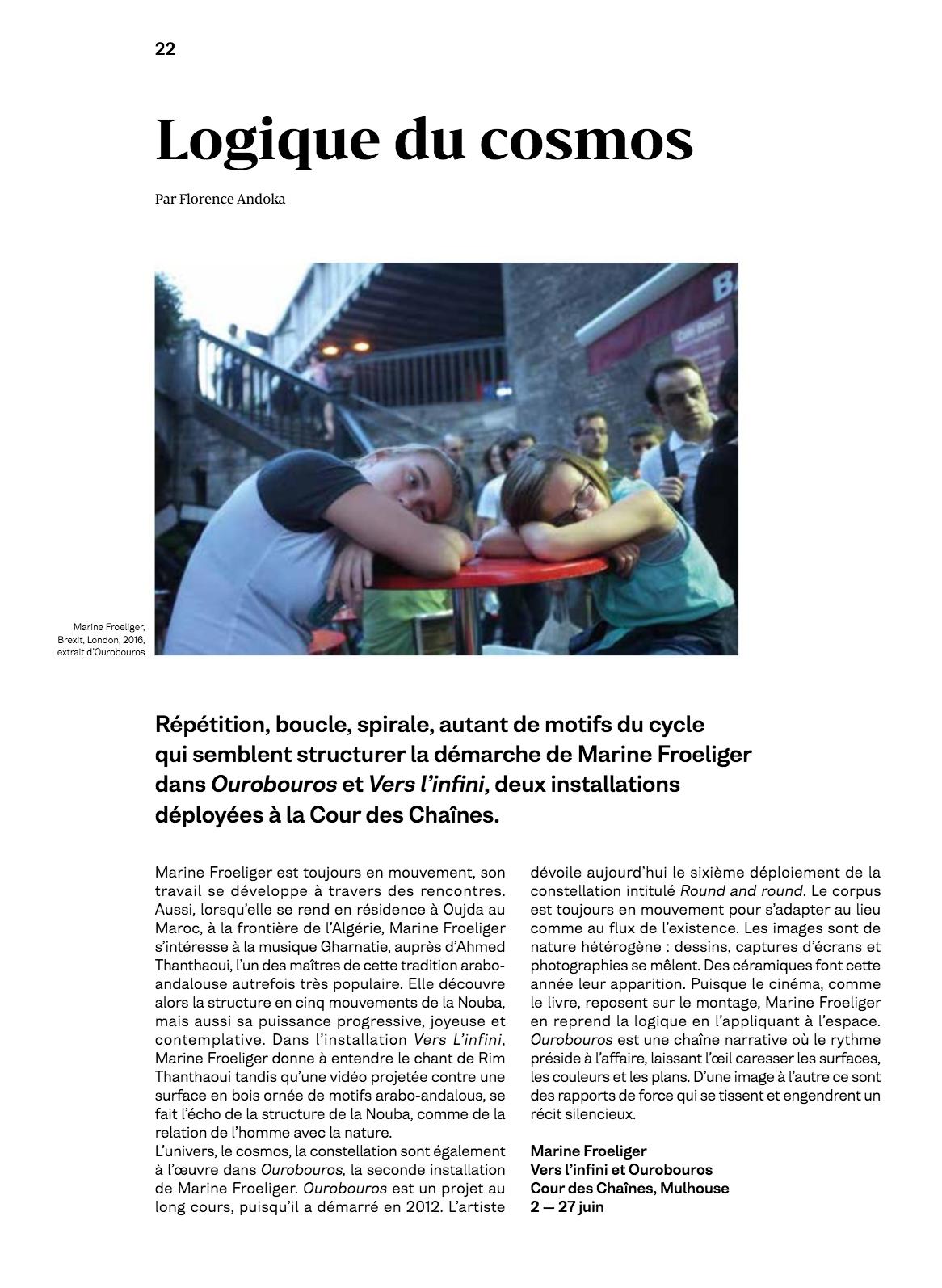 article extrait du NOVO hors-série n°5 consacré à la Biennale de la Photographie de Mulhouse, 2018
