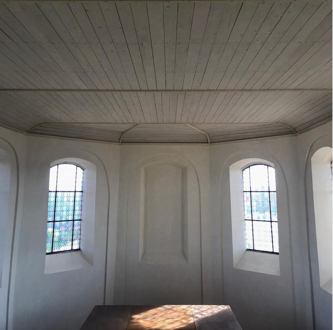 création sonore présentée dans le cadre de l'exposition Résonance-Resonanz - FRAC Lorraine, à la Chapelle de la Citadelle de Bitche (57), 18 mai - 22 septembre 2019. Vue de l'exposition.