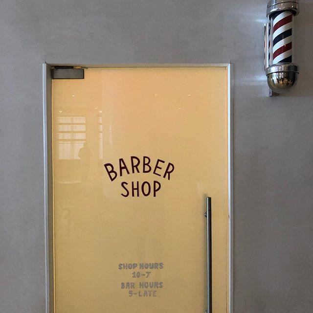 Blind Barber in Miami. Business in the front... #secretbar @blindbarber @arlohotels