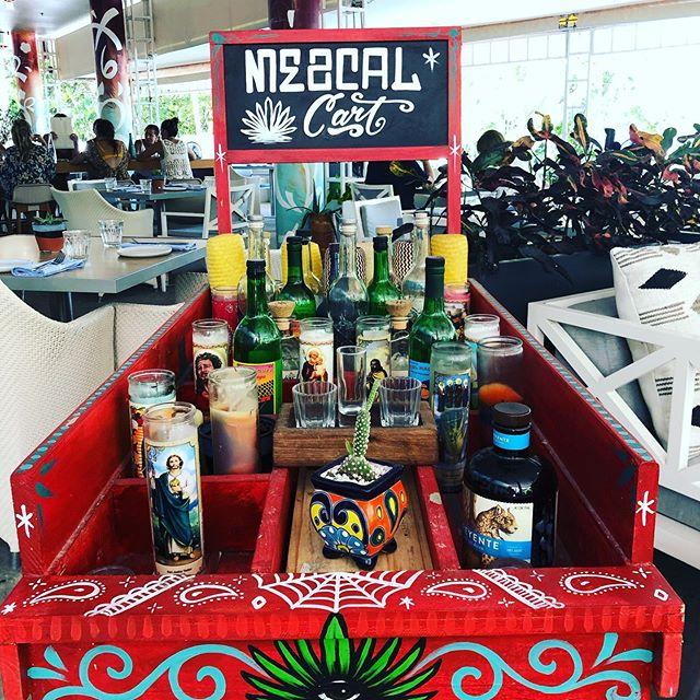 One Mezcal (Cart) please. @shoreclubsouthbeach @diezyseisrestaurant