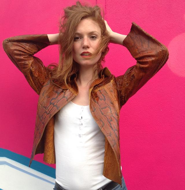 Celine, actress. Paris