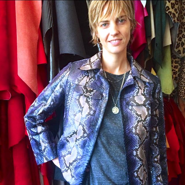 Delphine Delafon, stylist, Paris, Unique Jacket