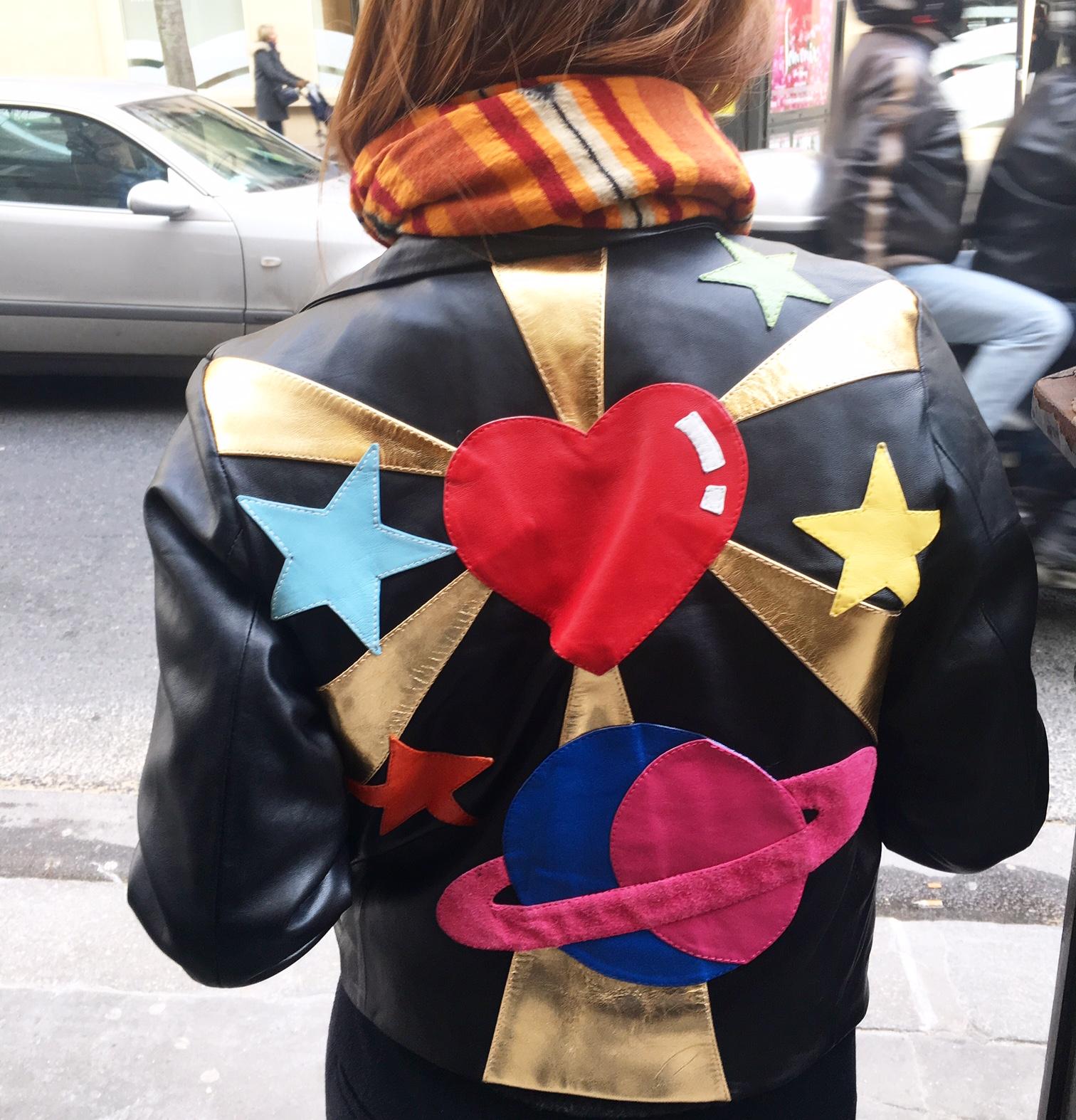 Johanna Innocenti, Parisian Queen, Unique Jacket