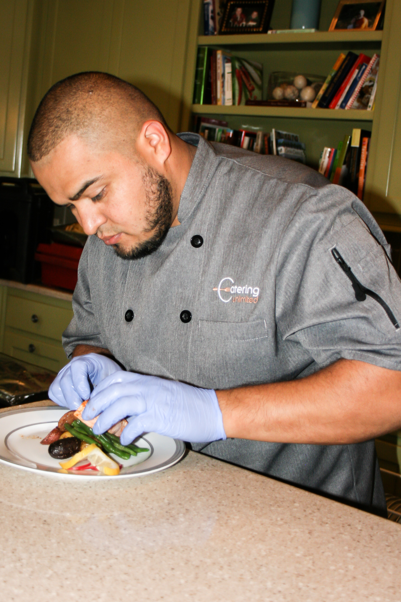 Jaime Flores, Executive Chef - Jaime has been with Catering Unlimited for 10 plus years, and to say that he is the pillar that holds the company up is modest at best. He has a passion for food in all genres and his execution is unsurpassed. Jaime has an eye for detail and coordination that ensures every meal leaving our kitchen is fresh, delicious and presentable. In addition to being a wonderful executive chef, Jaime is a dedicated husband and father to his two great kids!