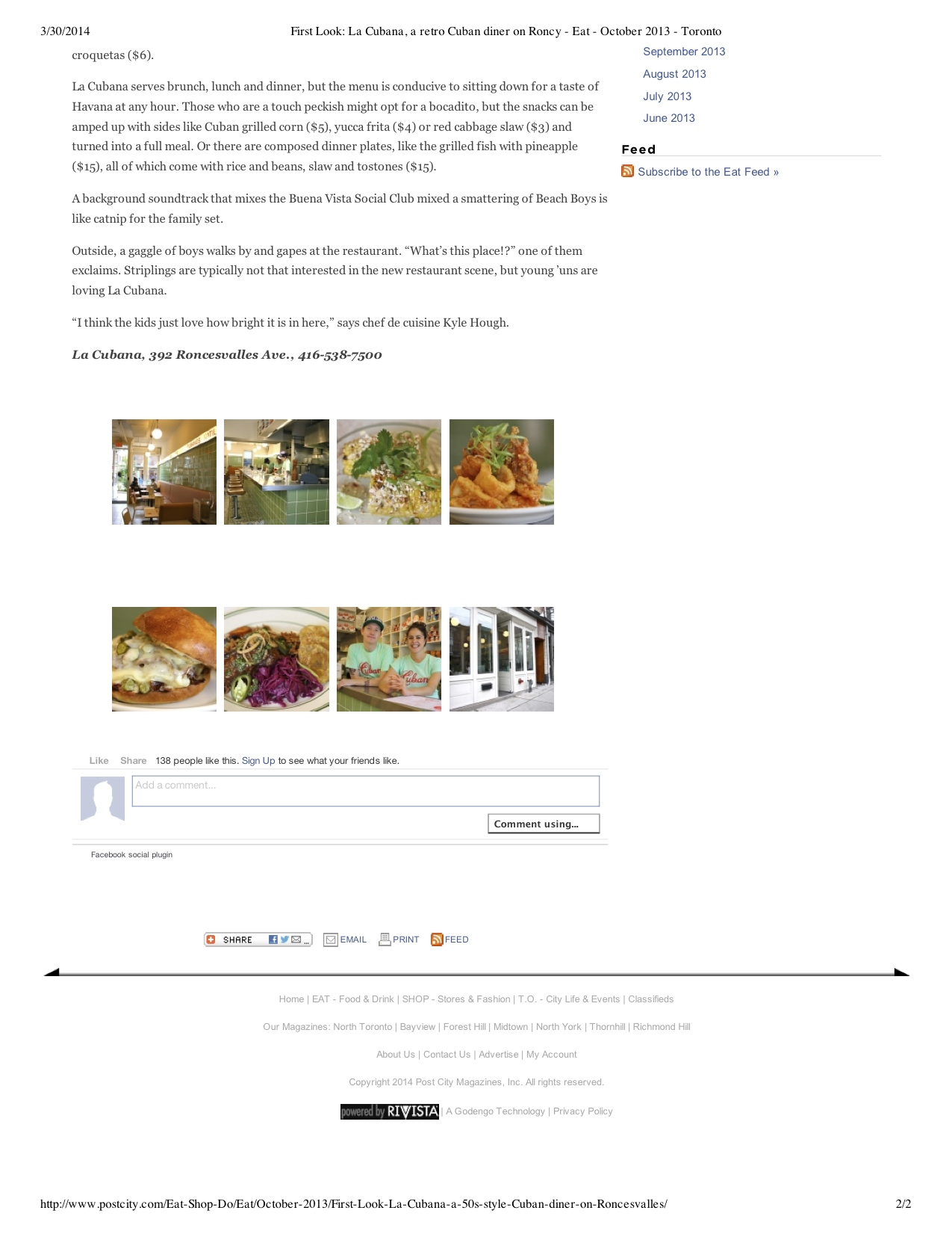 "Preview of ""First1 Look- La Cubana, a... October 2013 - Toronto"".jpg"