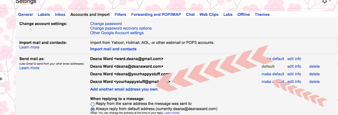 setting up your branded email account