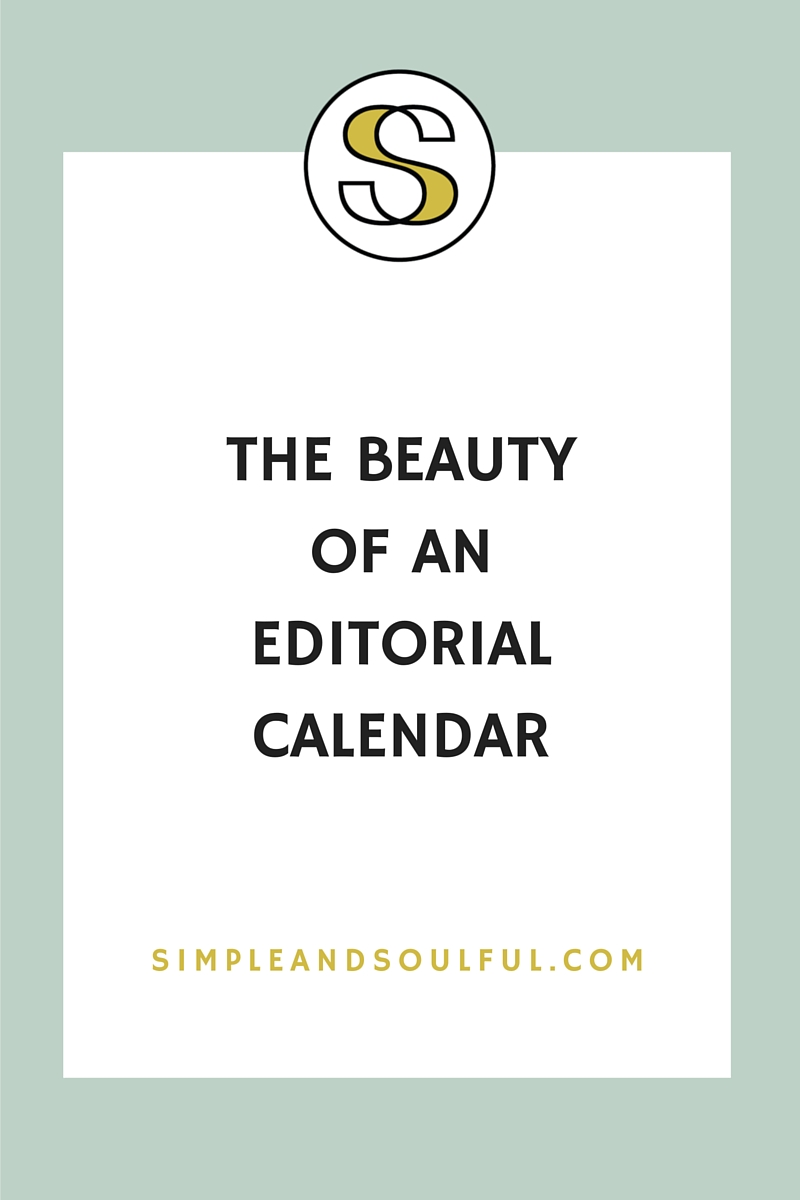 how to set up an editorial calendar for your blog