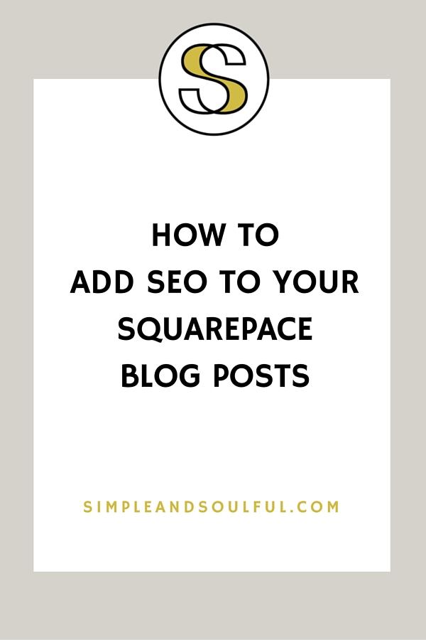 easy squarespace SEO tips