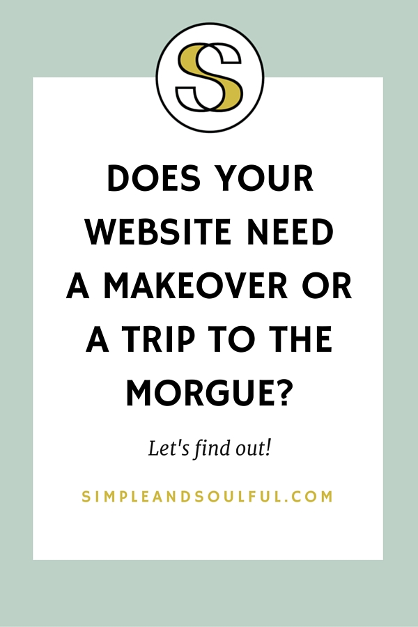 does your website need a makeover