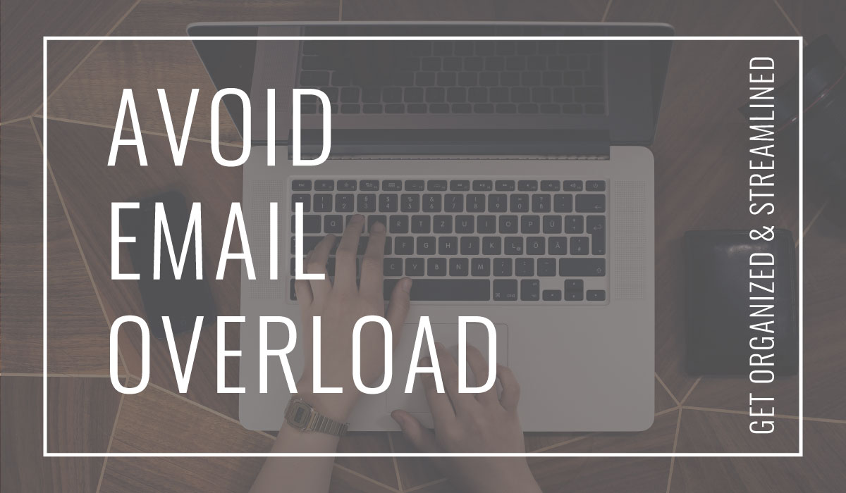 Here's a look at what works for me to manage email overload and keep my Gmail inbox organized. Tips for solo business owners who don't know where to start.
