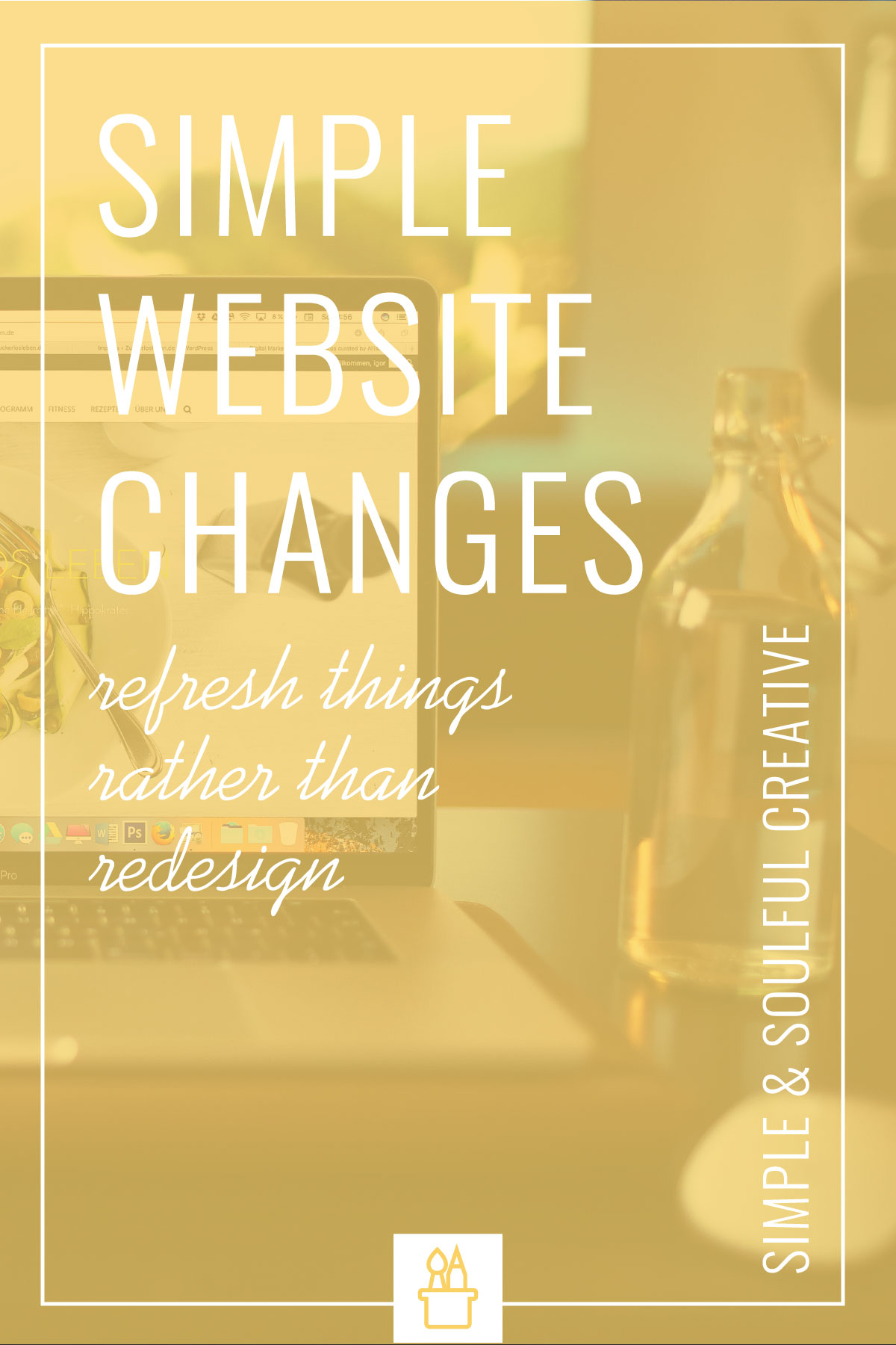 If you don't have the time or resources for a complete website redesign but know your site needs a facelift, today's post is for you.We're sharing some basic user experience design principles—including five specific improvements you can make to your website today.