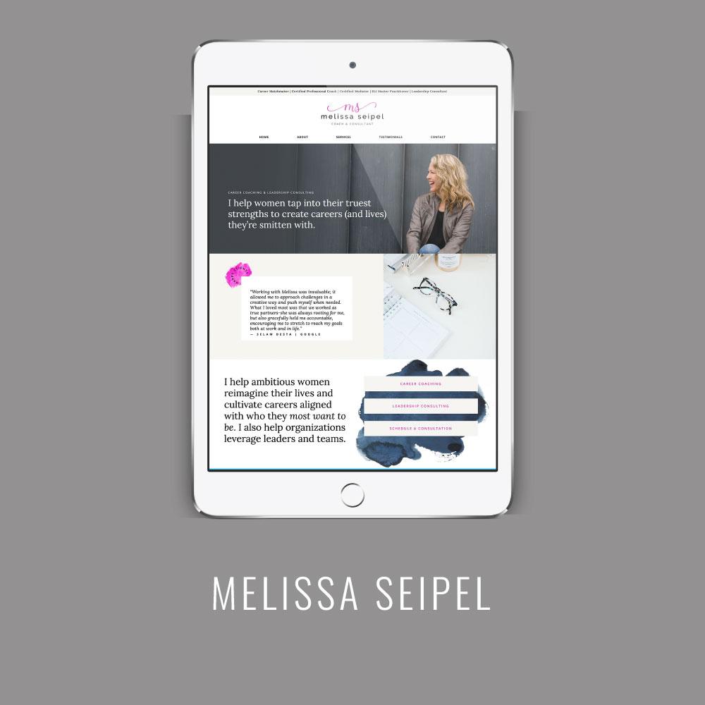 Melissa Seipel | Squarespace Website Launch