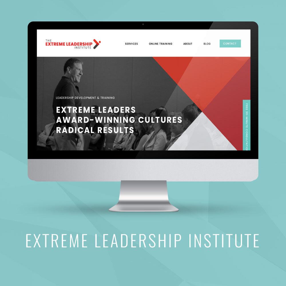 Extreme Leadership Institute | Squarespace Website Launch