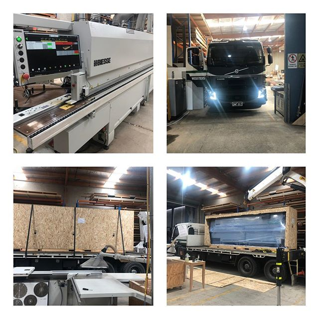 Our new Biesse Akron 1400 is now installed. This edgebander is fully CNC controlled and will help to keep up with the high demand of cabinet and custom joinery work we are doing. #biessegroup #customjoinery #cabinetmaker #hotelfurniture #joineryqld #customfurniture