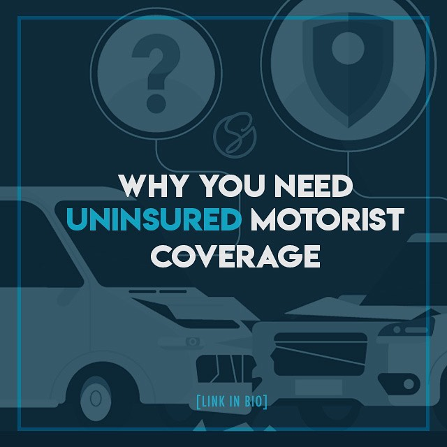 DID YOU KNOW - In 2017, Alabama was ranked #6 in the country (yeah, ALL of America) in the number of uninsured drivers?!😱 . DID YOU ALSO KNOW - Uninsured drivers are 34% more likely to cause an accident than insured drivers? Yikes! . So, what does that mean for YOU as an insured driver?🤔🤷‍♀️ . It means YOU NEED uninsured motorist coverage! Learn why in this week's blog post! [link in bio]