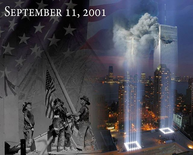 May we never forget... Never forget the lives lost, the bravery of our first responders, or the way our country united to fight unfathomable evil. God Bless America, land that I love! #neverforget