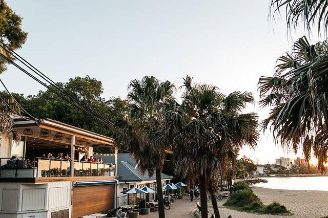 Sunset celebrating at The Boathouse