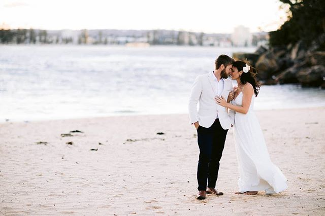 Gorgeous Jen + Ian on Shelly Beach