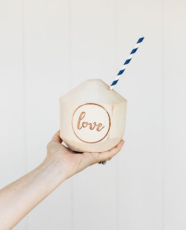 Love branded coconuts ⠀ #theboathousegroup #theboathouseshellybeach #coconuts #styling #drinks