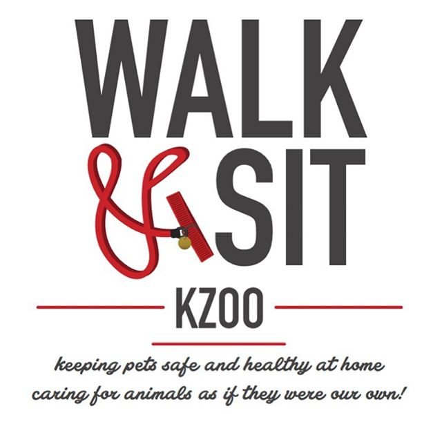 Logo design for the super sweet, caring and thoughtful @megkolaja @walkandsitkzoo #petsitting #kzoo