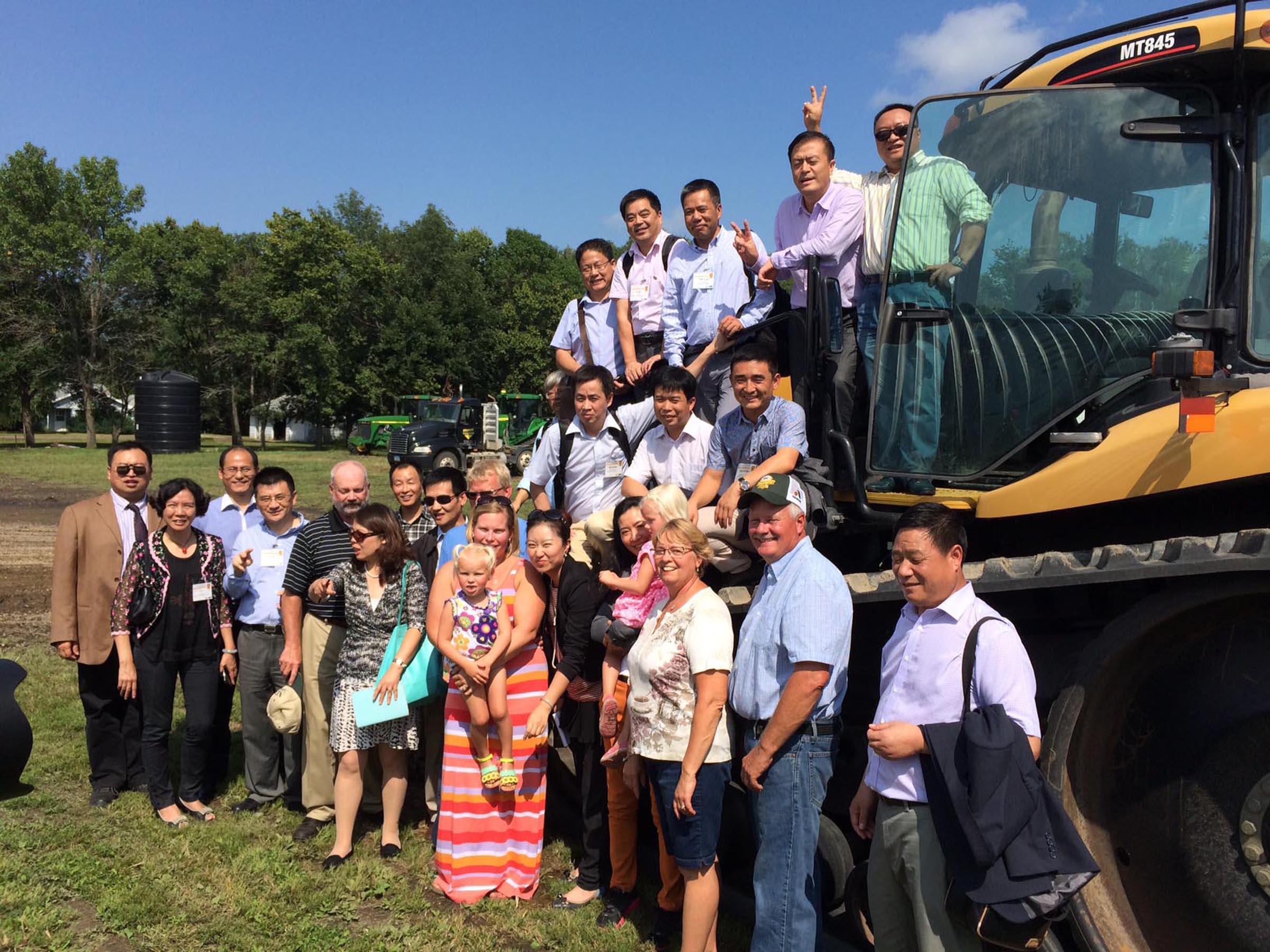 2014 China Feed Manufacturing SC at Scott Gauslow's farm 4.jpg