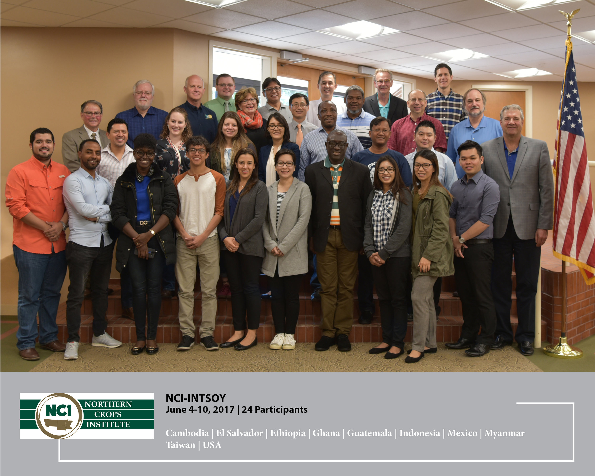 Twenty-four participants from 10 different countries participated in the successful 2017 NCI-INTSOY course during June 5-10.