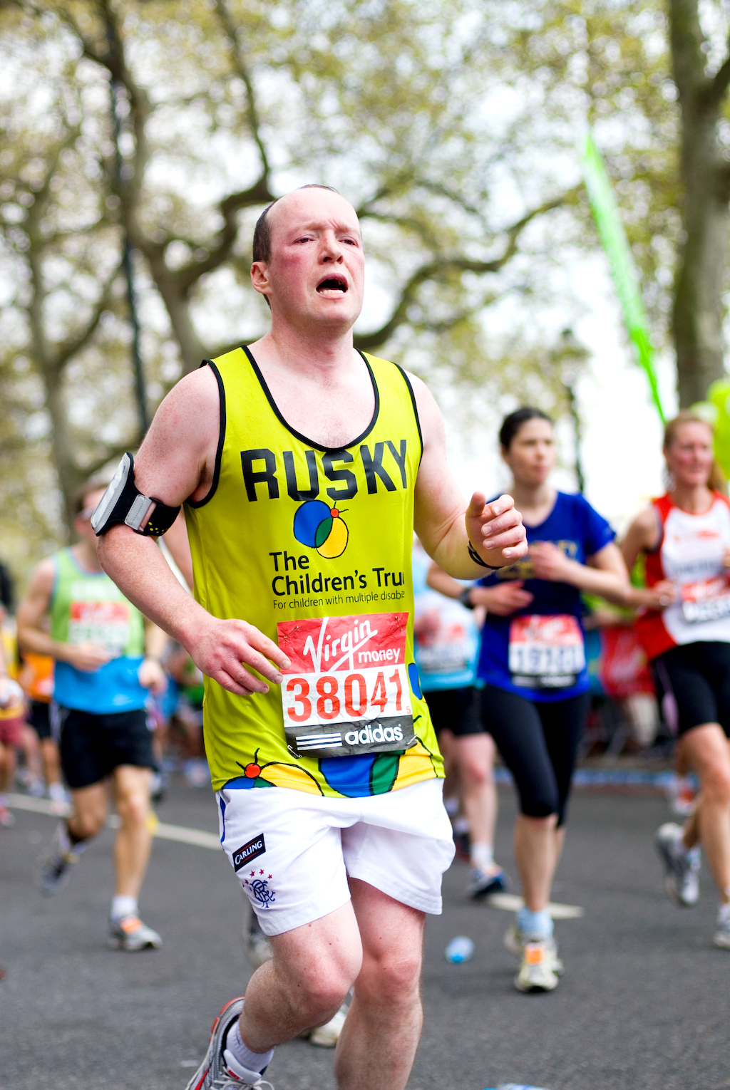 London Marathon 2011 - Mile 24.75