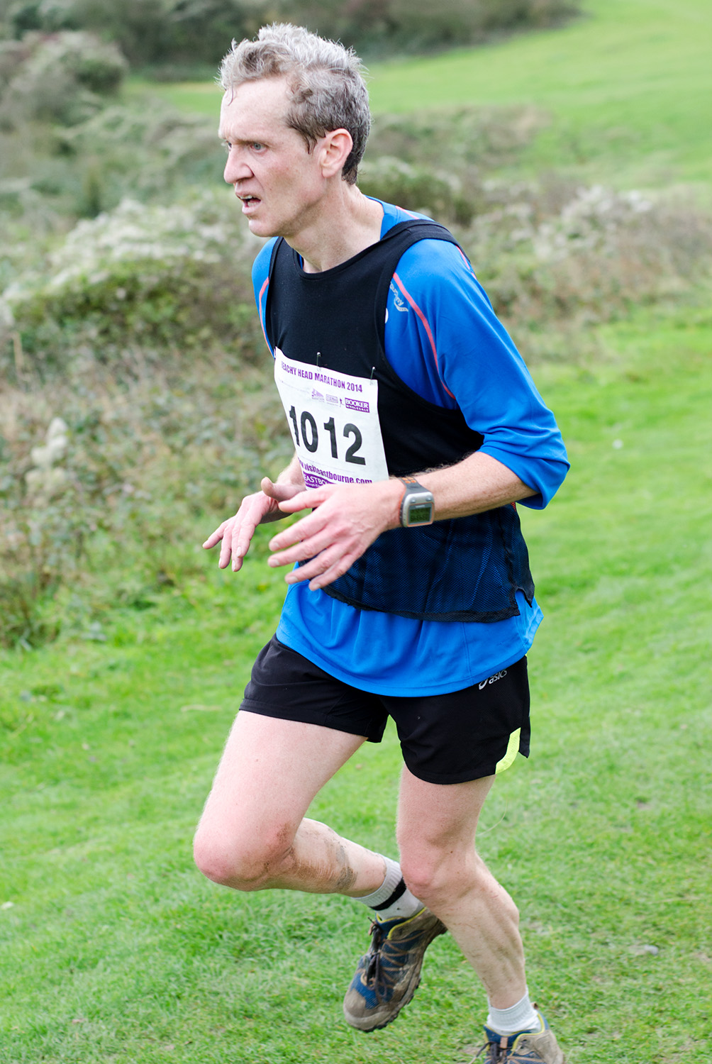 Beachy Head Marathon 2014 - Mile 24.75