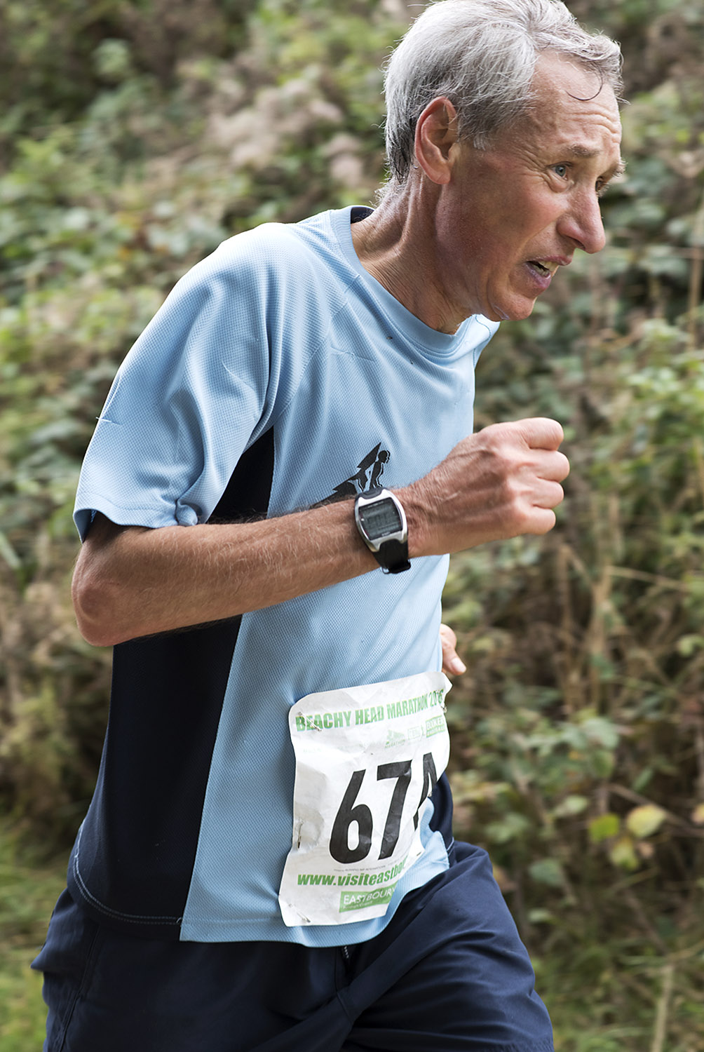 Beachy Head Marathon 2016 - Mile 25