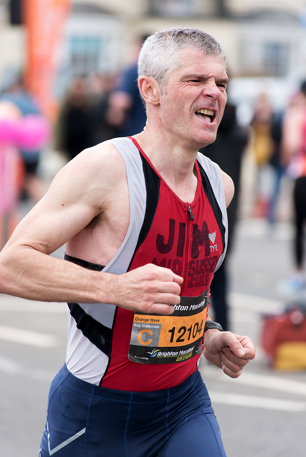 Brighton Marathon 2018 - Mile 25