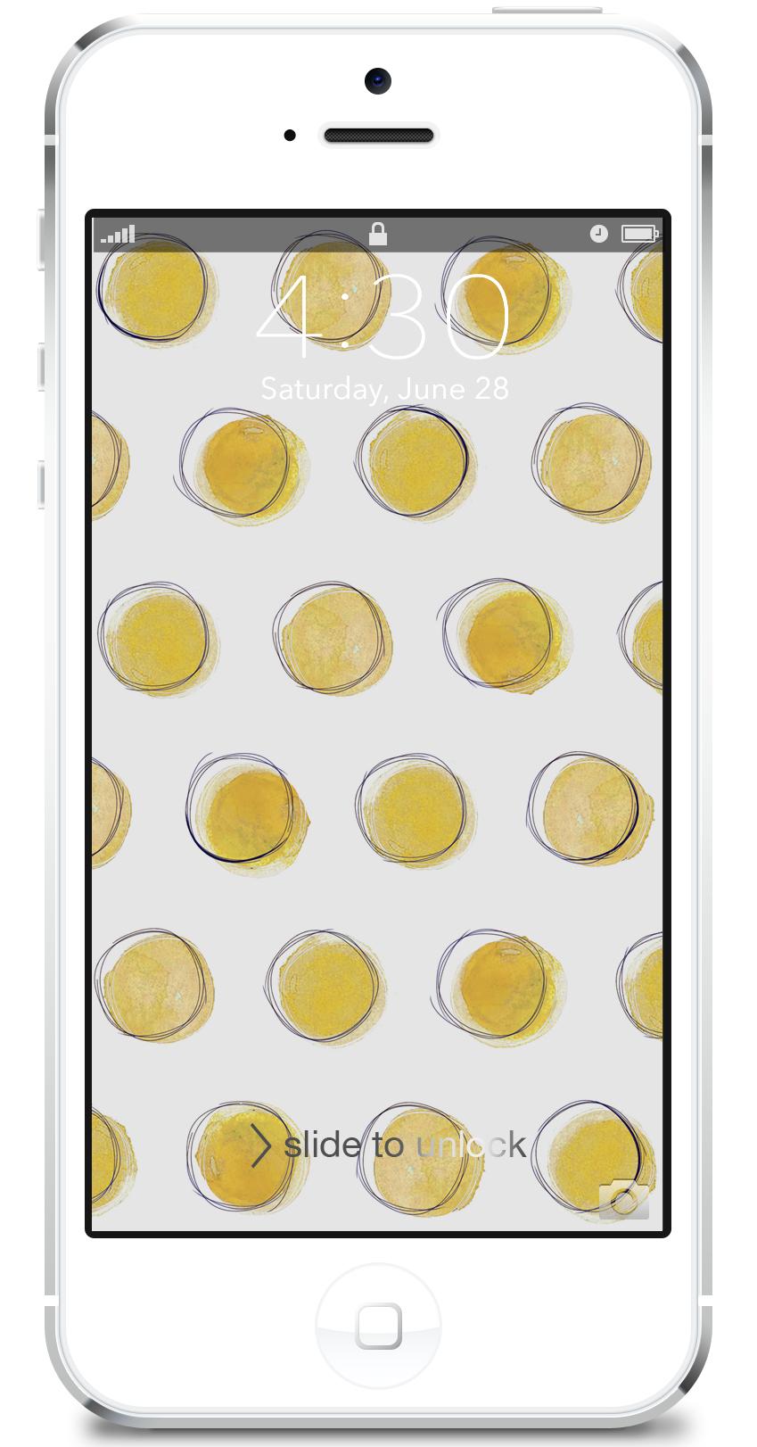 lemon dot iphone