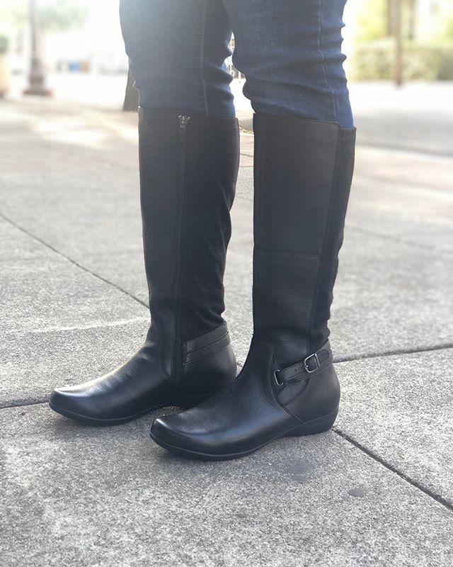 Dansko Francesca $200 #amazing #leatherboots #nelsonsfootwear
