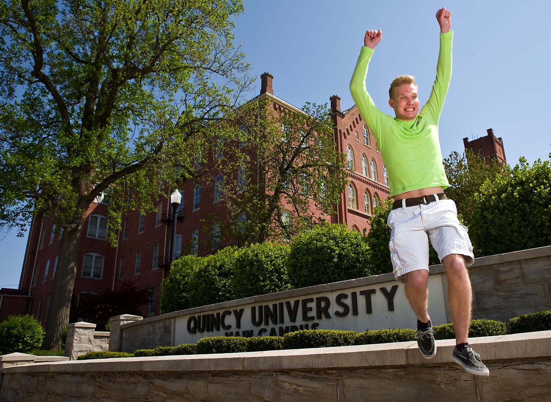 """""""Quincy University"""""""